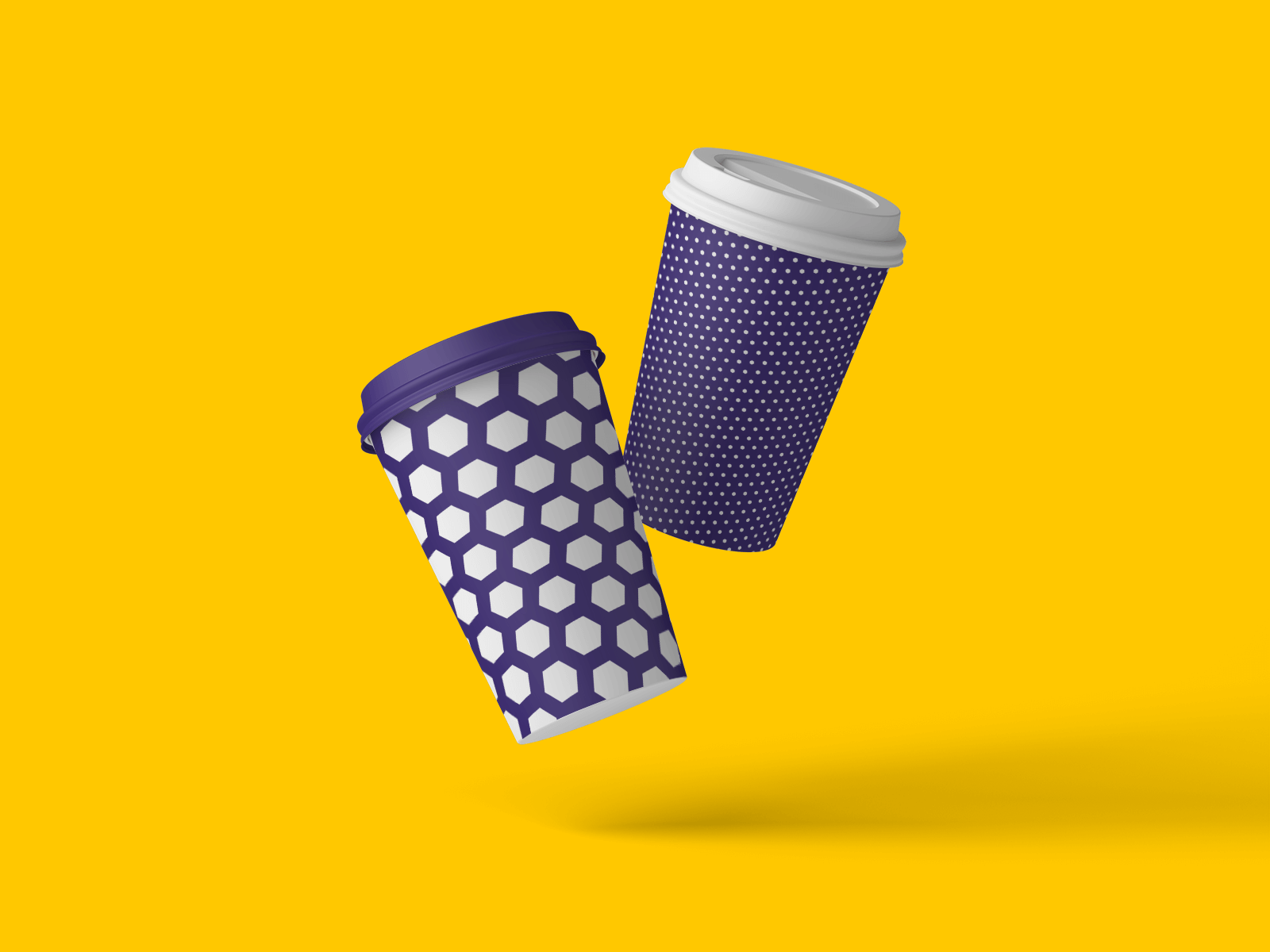 Mockup of Coffee Cup