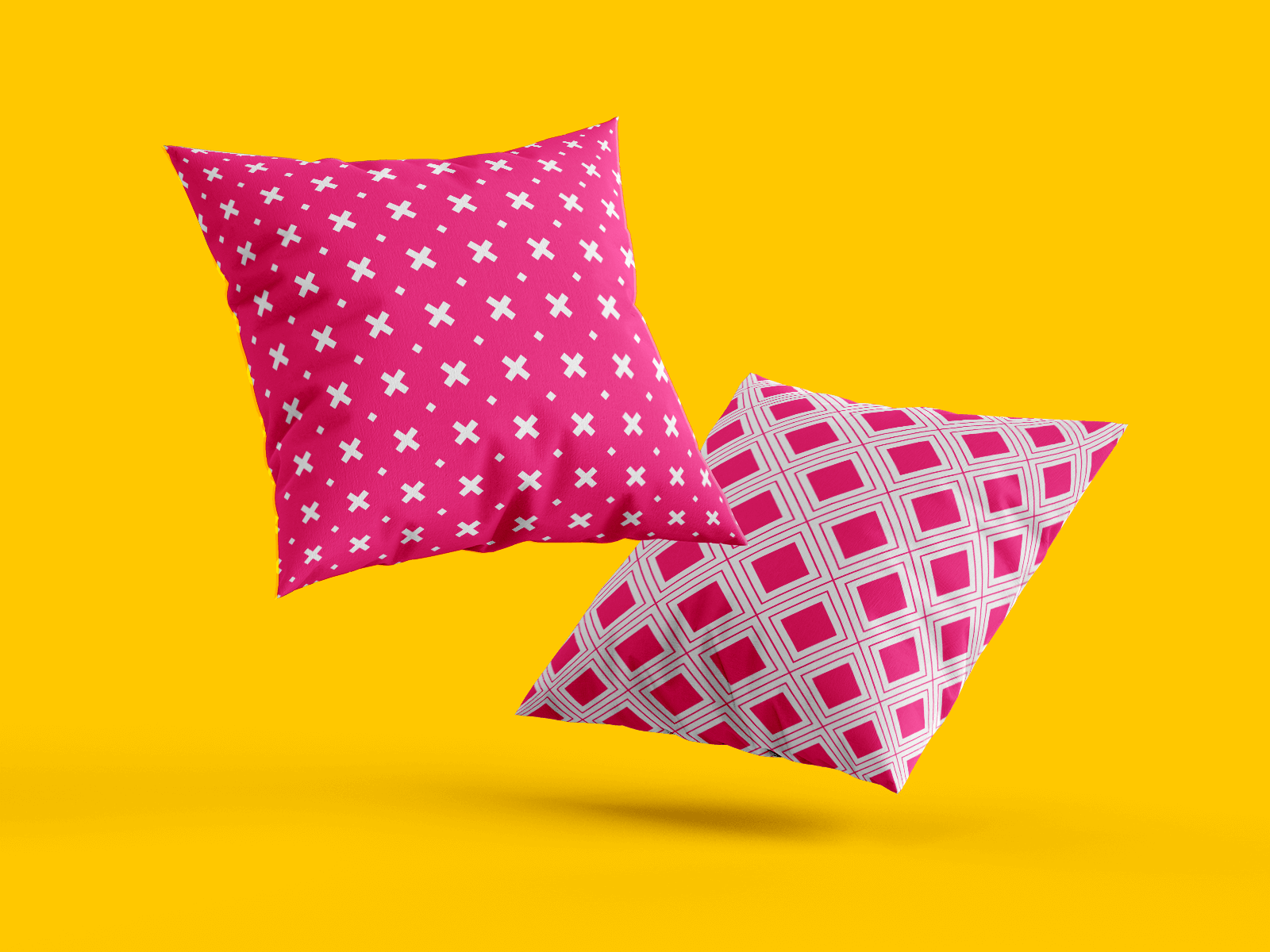 Mockup of Pillows